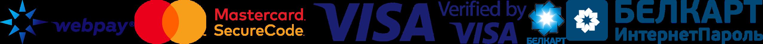 Webpay Visa MC Logos